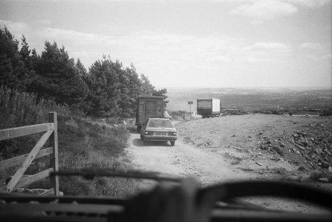 Freeparty Convoy Pennines Sheffield 95