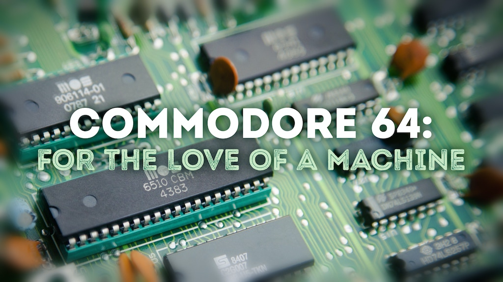 Project image for Commodore 64: For the Love of a Machine (Canceled)