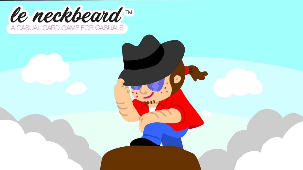 Le Neckbeard: A Casual Card Game for Casuals project video thumbnail