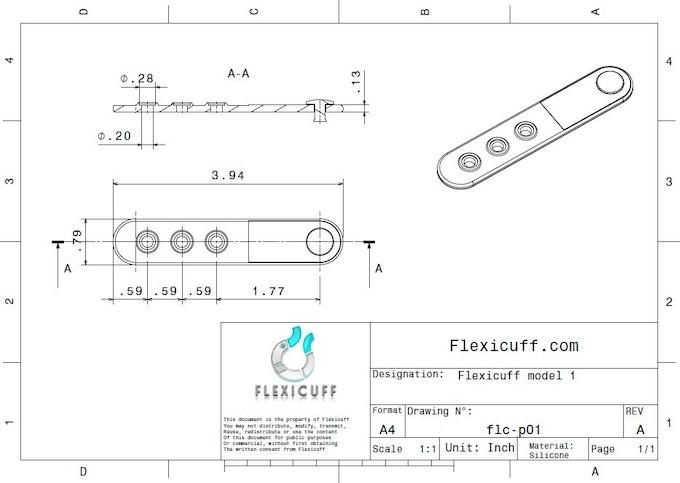 The Blueprint - Flexicuff Strap