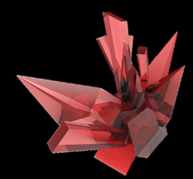 crystal cluster 3