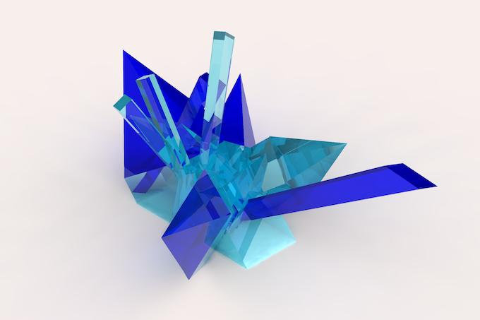 crystal cluster 5
