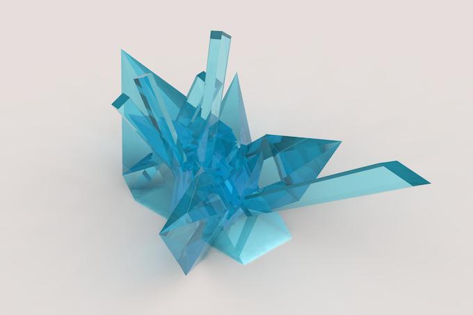 crystal cluster 6