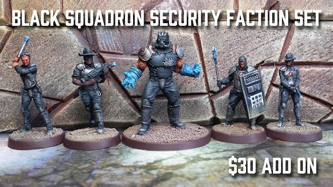 Black Squadron Faction Set - $30 Add On