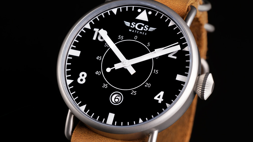 Premium, Hand-Assembled Watch - The Eagle project video thumbnail
