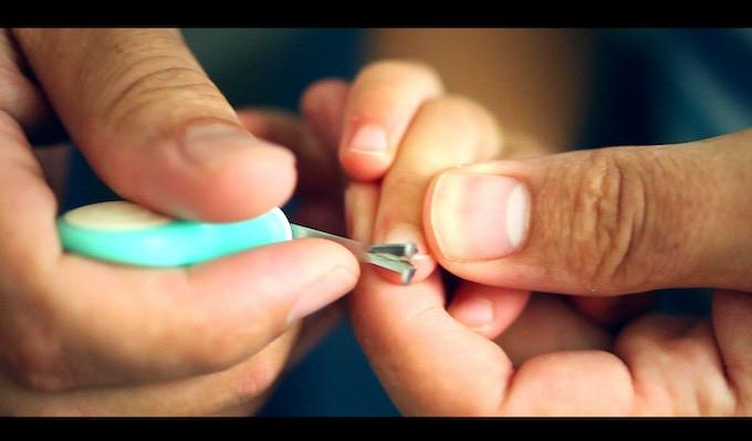 Trimming Fingernails (18 months)
