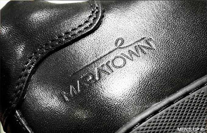 Upper : full grain calf leather