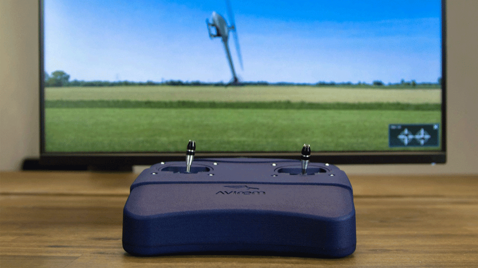 Learn to master flying by watching manoeuvers and feeling the control sticks. The StickMover guides you to flying!