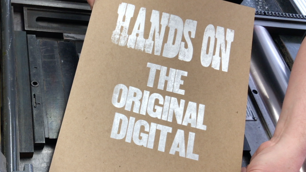 Hands On: the Original Digital project video thumbnail