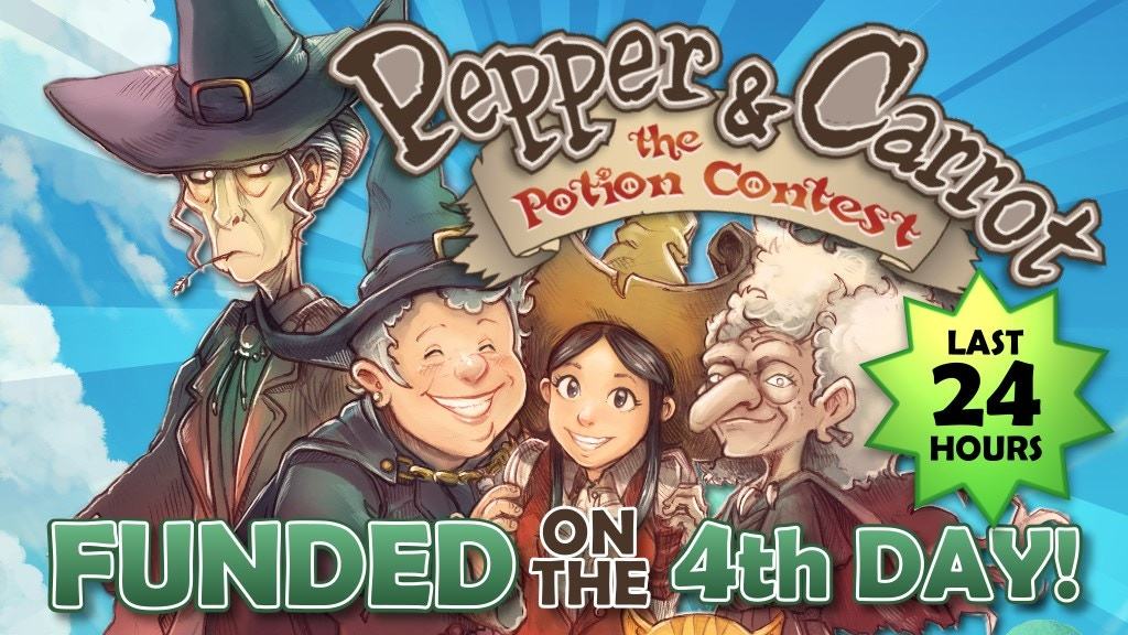 Pepper and Carrot Board Game project video thumbnail