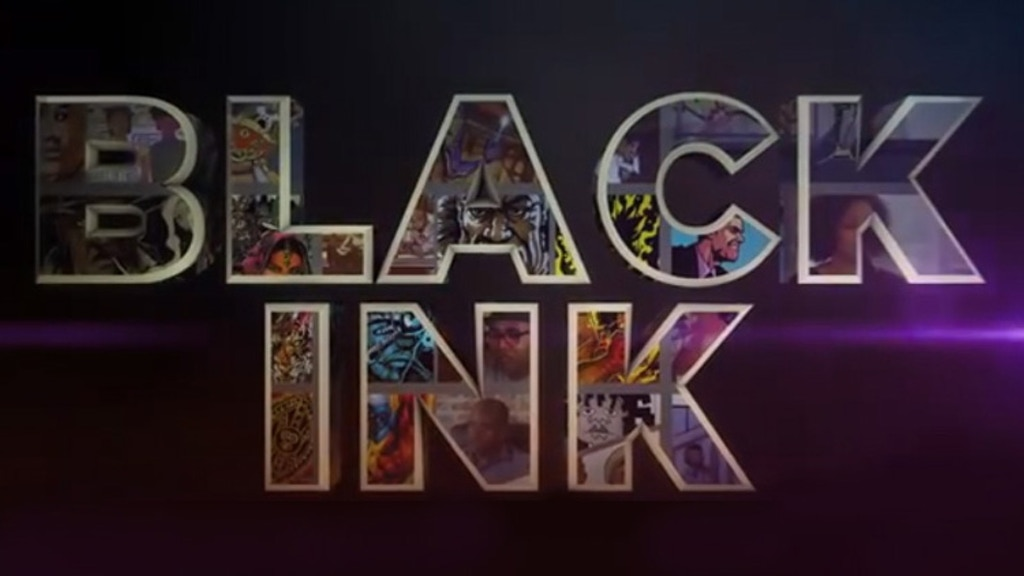 BLACK INK People of color in comics project video thumbnail