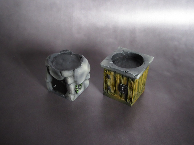 Dungeon Entrances (Supplied unpainted) 150g