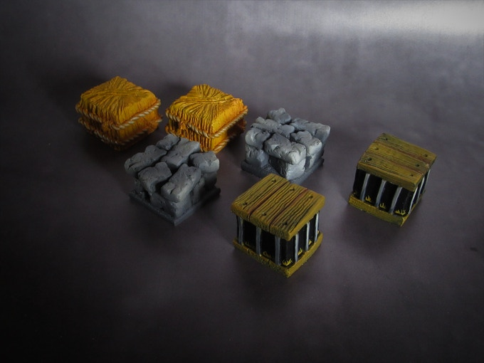 Walls, Bales & Cages (Supplied unpainted) 225g