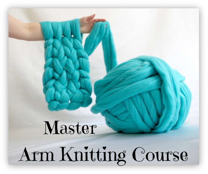 Arm Knitting Tutorial Pdf : Truly majestic giant luxury knits kits and tutorials