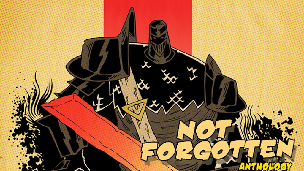 """Not Forgotten"" A Public Domain Superhero Anthology! project video thumbnail"