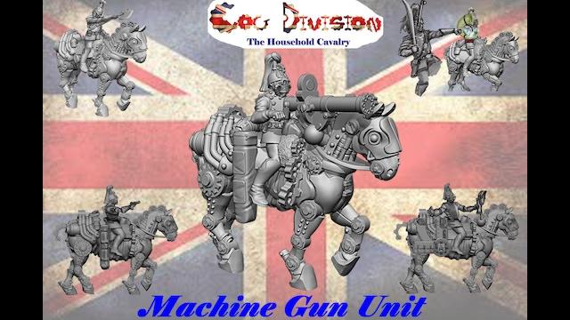 Machine gun unit of the cog division vsf 28mm miniatures by richard dallimore kickstarter - Div checker tool ...