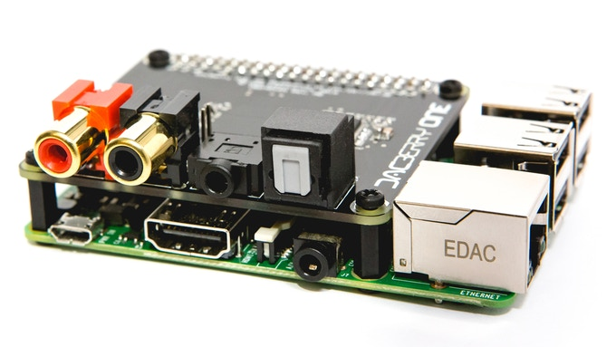 DACBerry ONE - Analog/Digital Sound Card for Raspberry Pi by
