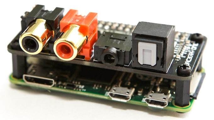 DACBerry ONE - Analog/Digital Sound Card for Raspberry Pi by