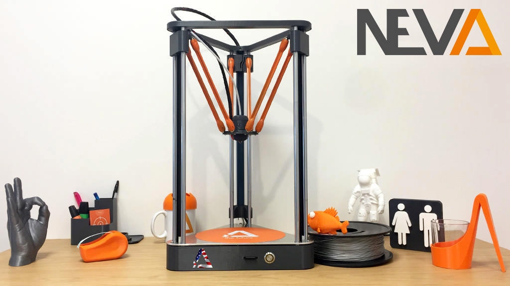 NEVA: The Easiest and Most Affordable 3D Printer Ever project video thumbnail