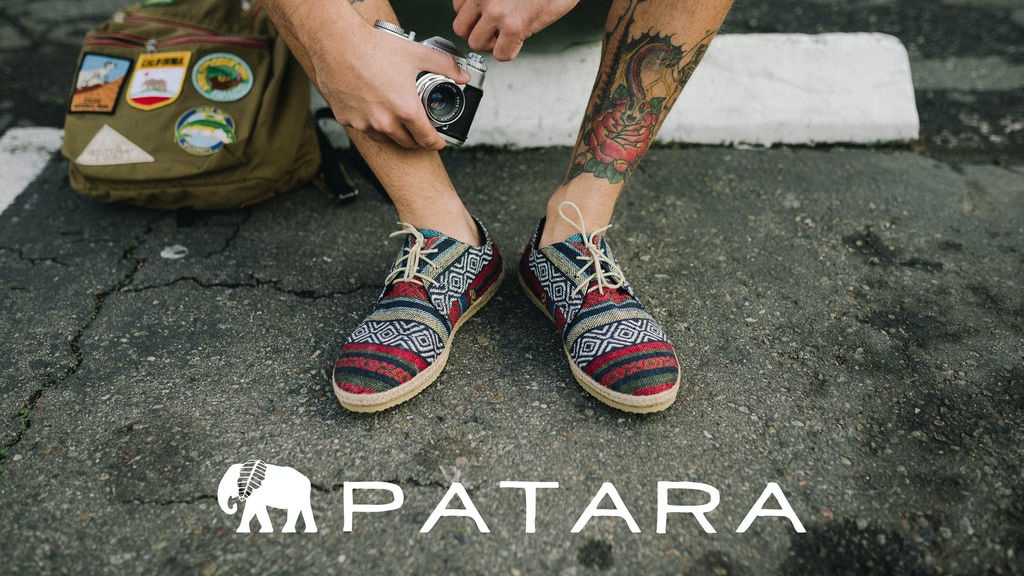 Patara – The Only Shoe You'll Need to Go From Beach to Bar project video thumbnail