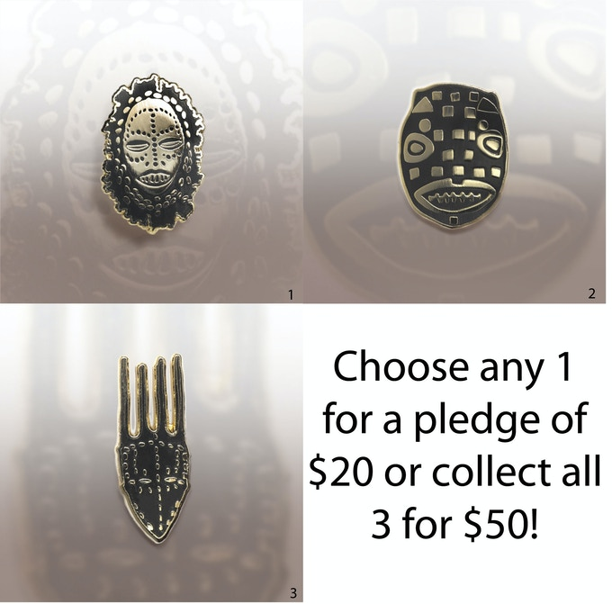 Artist Designed Pins