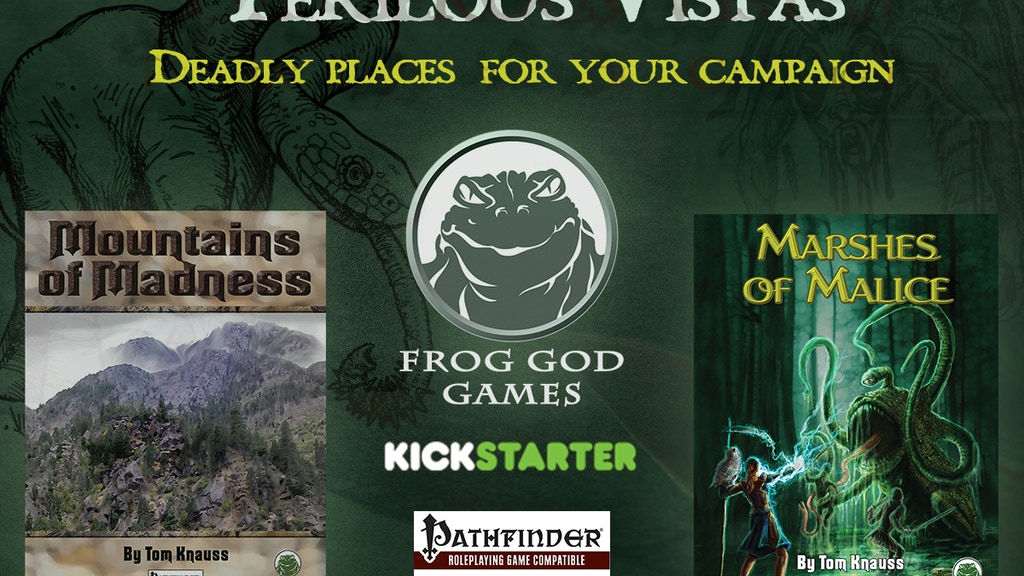 Perilous Vistas: Two New Environment Books for Pathfinder project video thumbnail