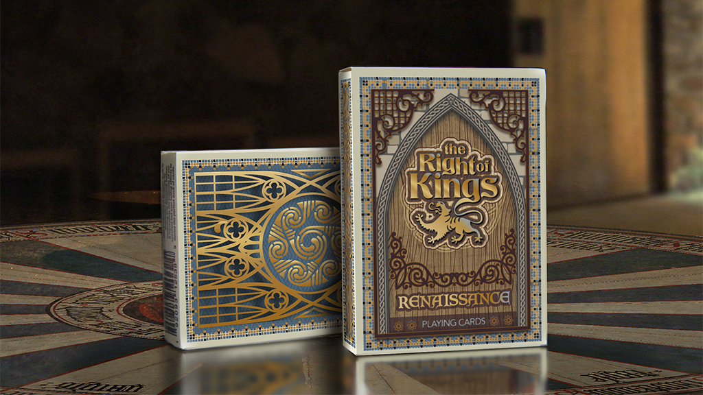 The Right of Kings - Medieval Playing Cards Set & Board Game project video thumbnail