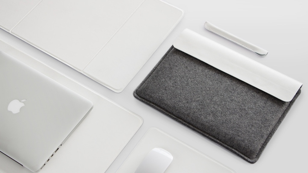 Minimal MacBook Sleeve & Leather Desk Pad – Make/100 project video thumbnail