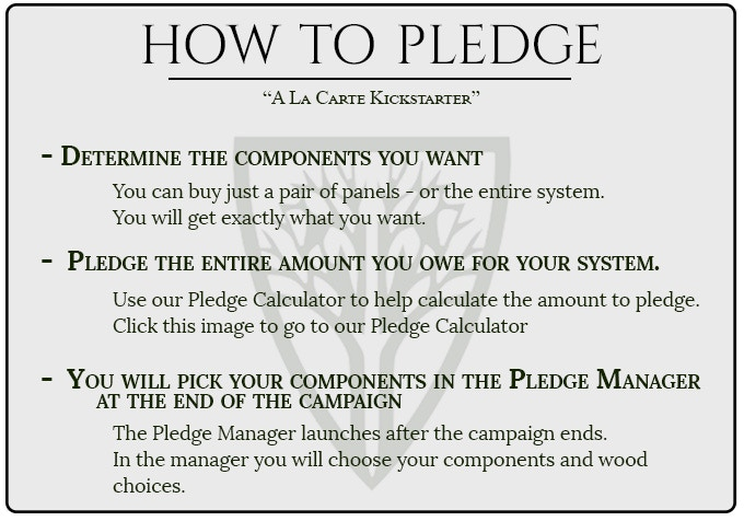 Click the image to go to our Pledge Calculator