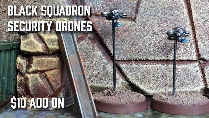 Black Squadron Drone Set
