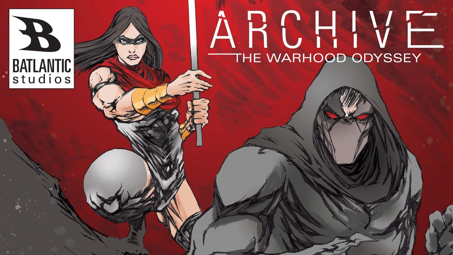 ARCHIVE The WarHood Odyssey FIRST ARC! Era Nalyd and Tachi battle for survival on New Selenia! The Walking Dead meets Star Wars!