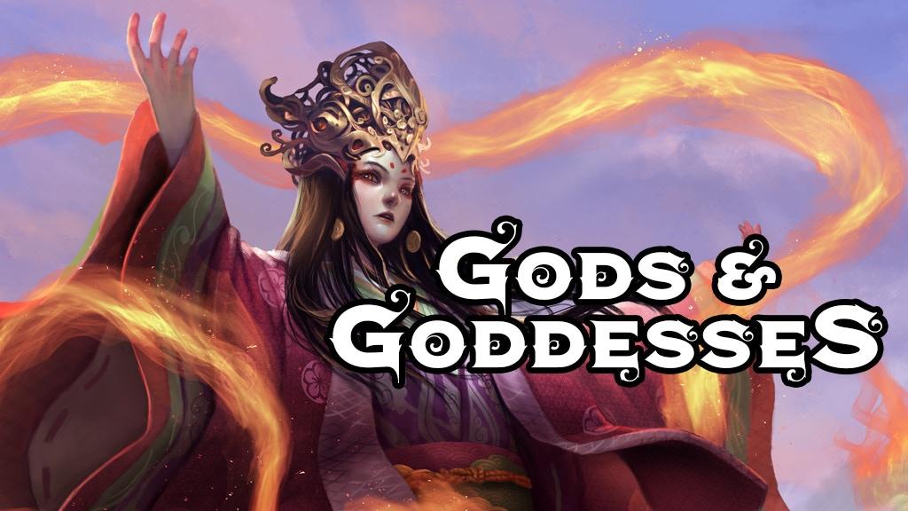 gods and goddesses a 5th edition supplement by jetpack 7 kickstarter