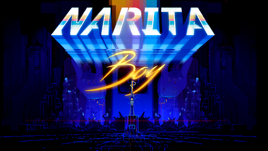 Narita Boy -The retro futuristic pixel game project video thumbnail