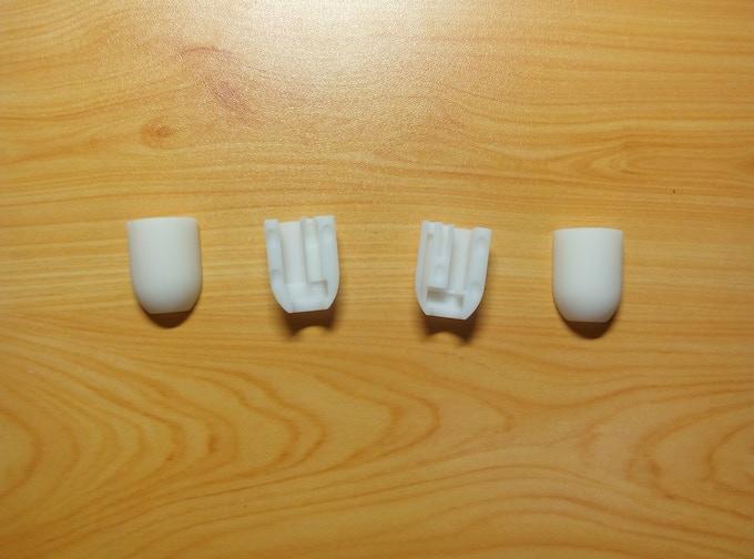 3D printing models of the original prototype