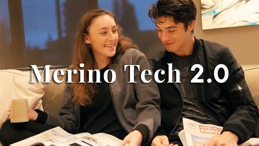 Merino Tech 2.0: The Minimal and 360 Hoodie project video thumbnail