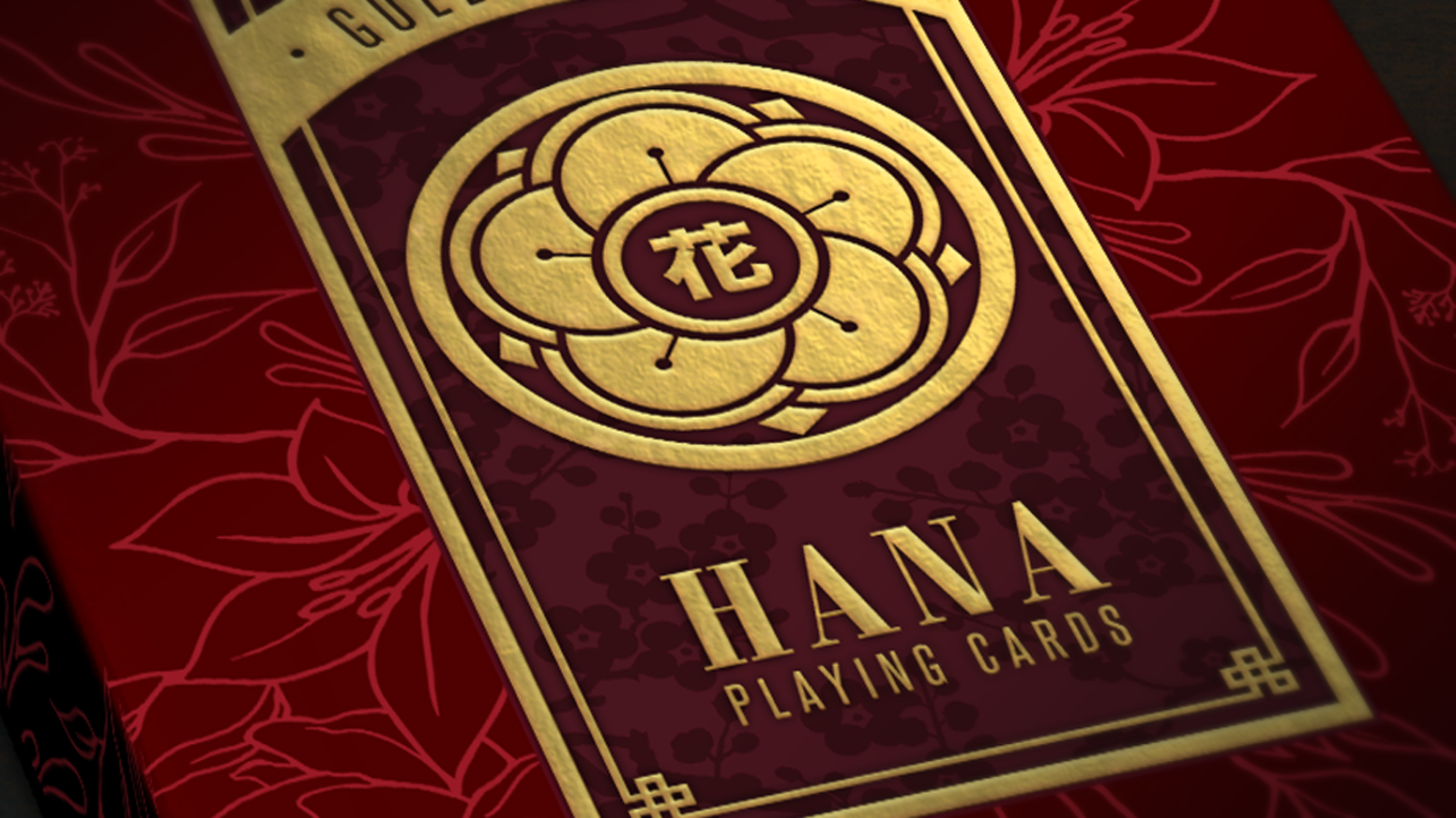 Classical Japanese culture inspired limited edition custom luxury playing card decks designed by Steve Minty