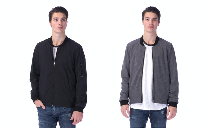 The Minimal for him, nylon side and merino side