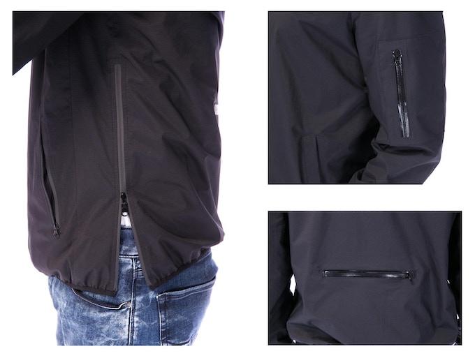 Water-proof YKK zippers