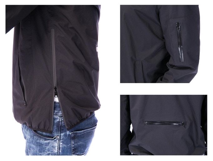 Water-proof YKK zippers