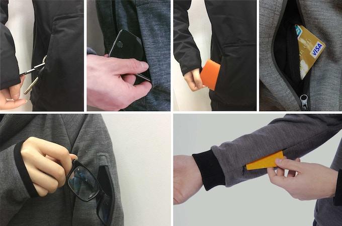 Versatile pocket system