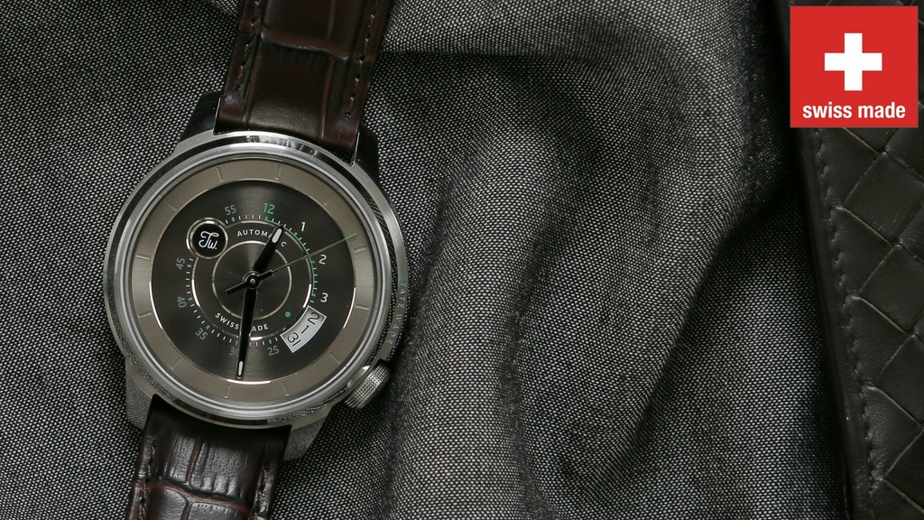 a264924eb0132 A UNIQUE SWISS MADE AUTOMATIC WATCH WITHOUT LUXURY MARK-UP project video  thumbnail