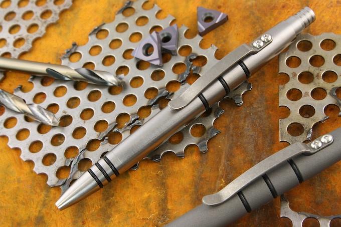 Brushed Titanium Mini-Click