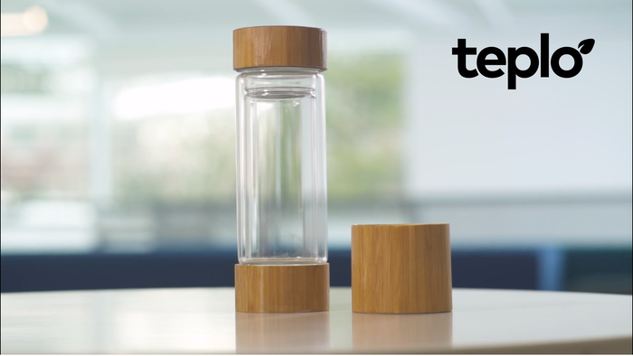 Teplo is a revolutionary smart bottle that allows tea drinkers to brew the perfect cup of tea, each and every time