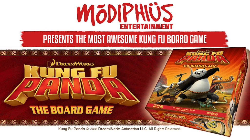 Modiphius Entertainment: The Kung Fu Panda Board Game project video thumbnail