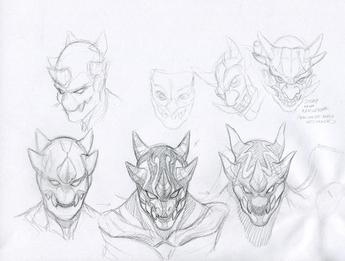MAYHEM head designs