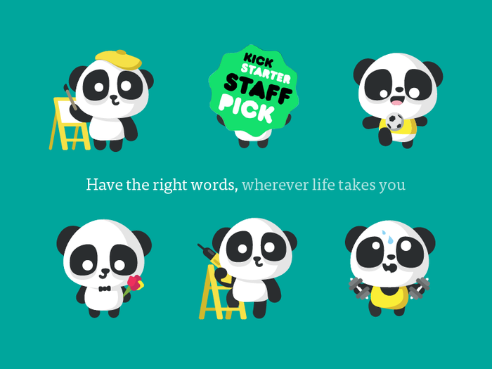 Fluent Panda will amplify the English you know with expressions and cultural insight necessary to communicate in new situations. And while we're working on it...