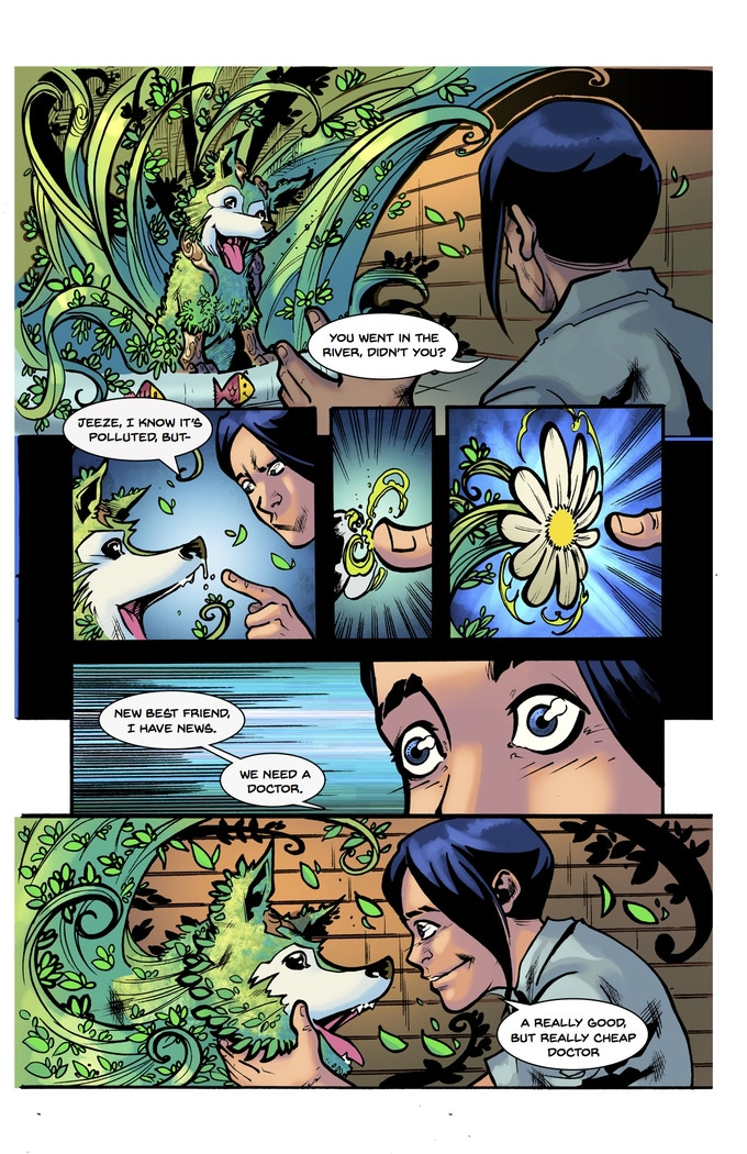 Lonesomes #2 Page 1