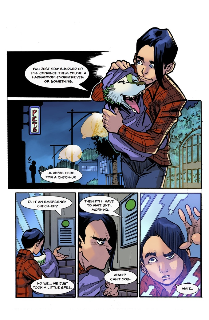 Lonesomes #2 Page 2