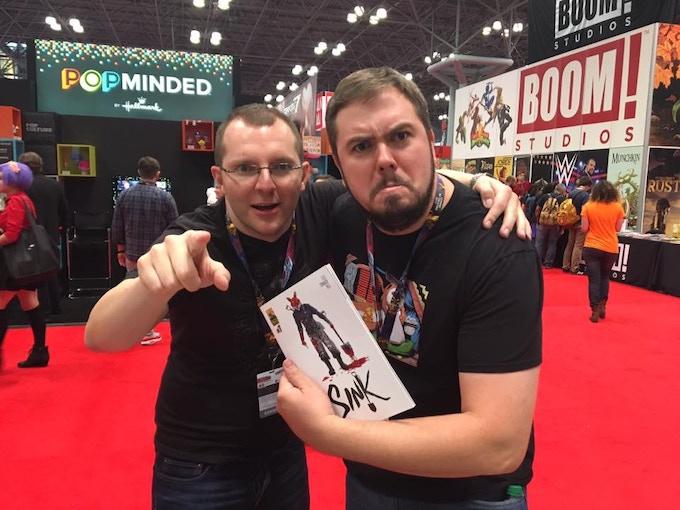 John Lees & Alex Cormack at NYCC 2016