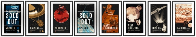 Some screen prints from the Spacecraft Series are still available